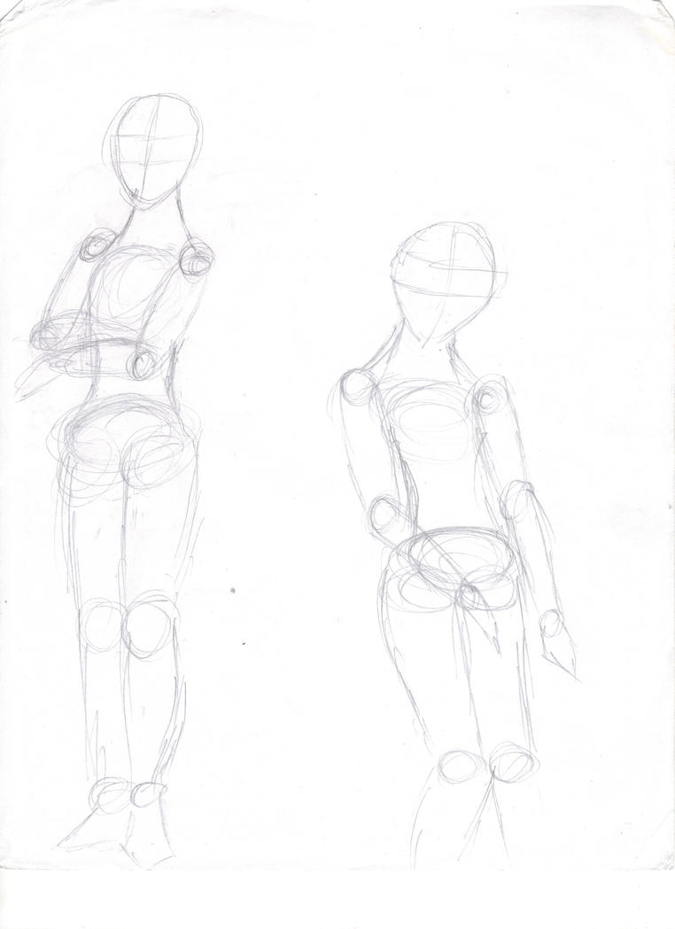 Anime male body outline download