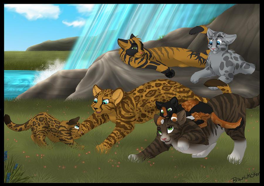 Warrior Cats Badgerfang