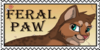 Feralpaw stamp by brownwhisker