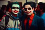 Cosplay : joker meets joker by kishorr