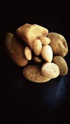 i love skimming stones  by kishorr