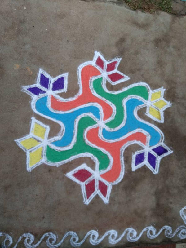 rangoli by kishorr