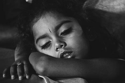 Sleeping beautifully