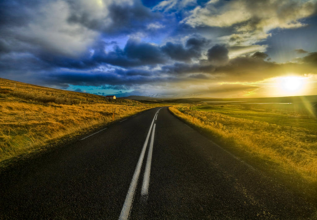 the open road by ikufiku