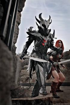Night to end - Skyrim Daedric and Aela