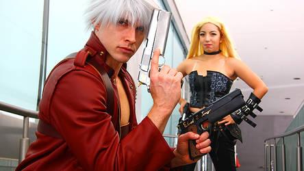 Dante and Trish Cosplay Sheetmetal