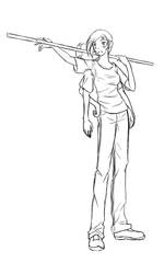 Commission: Lea Sketch by SanchaySquirrel