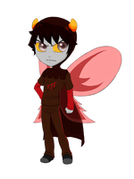 HS Beta God Tier: Karkat [Cel] by SanchaySquirrel