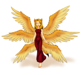 Side thingy - Seraph Gryph by SanchaySquirrel