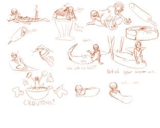 Sketch commission - Jodi by SanchaySquirrel