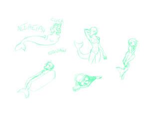 Sketch Commission - Kinno Foods by SanchaySquirrel