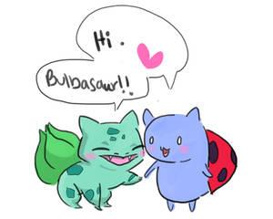Catbug and Bulbasaur