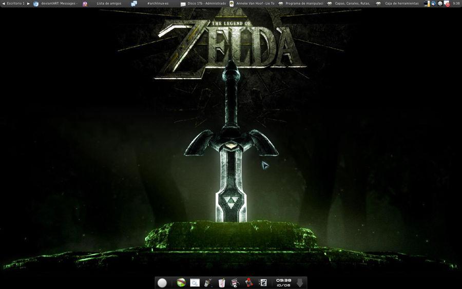 My desktopt on June 2011