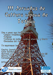 Cartel III Jornadas niponas Tetuan by son-link