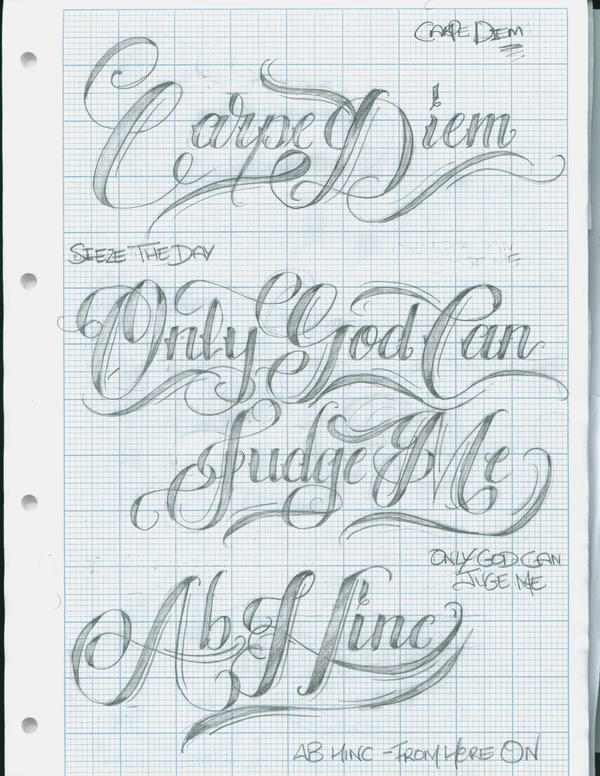 Only God Can Judge Me Tattoo Design Picture 1