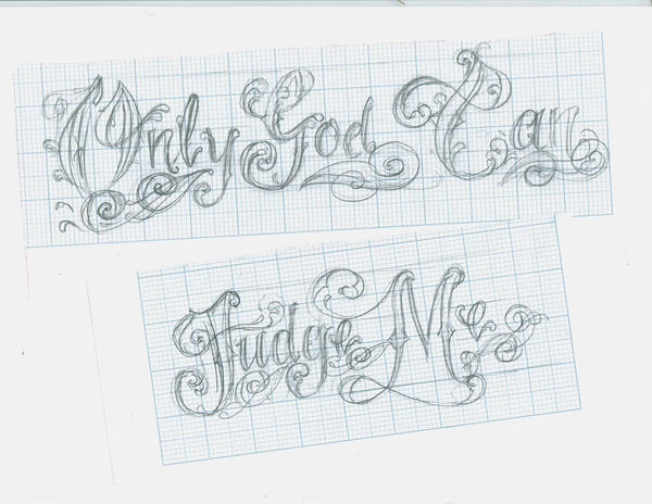 Only God Can Judge Me Tattoo Design Picture 3