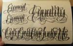 Moleskine Lettering 3
