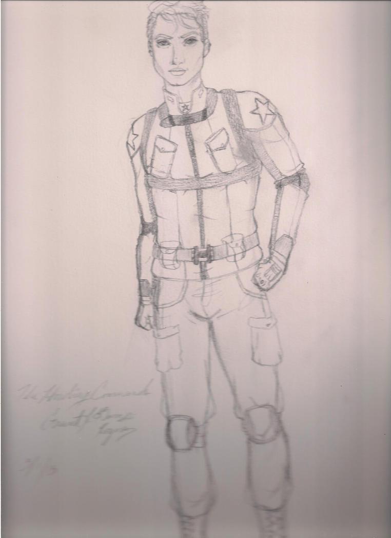 The Howling Commando: aka Grant J. Barnes-Rogers by BetahimeTsukiko