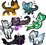 CHEAP Cat Adoptables CLOSED