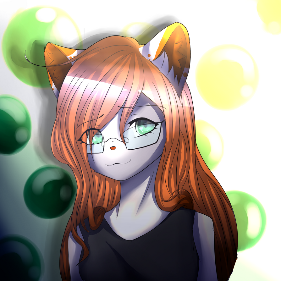 Art Trade for me0w-coholic by My8thLife