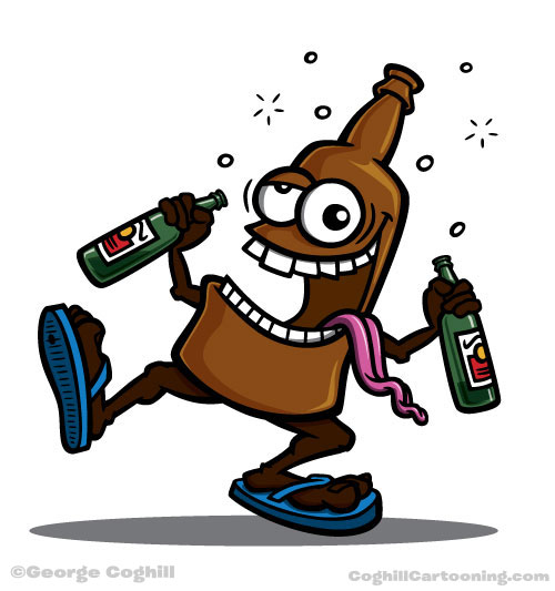 Cartoon Broken Beer Bottle Beer Bottle Cartoon Wallpapers