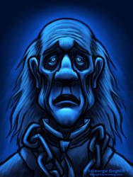 Ghost Of Jacob Marley from A Christmas Carol by gcoghill