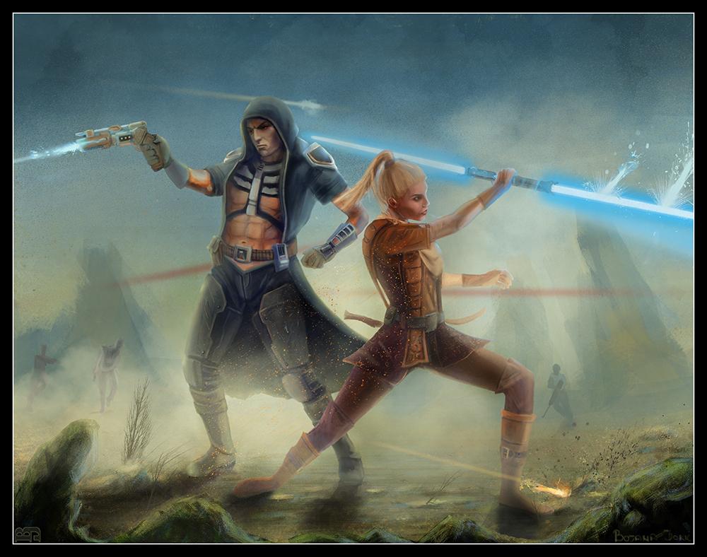 Star Wars The Old Republic Swtor Fan Art
