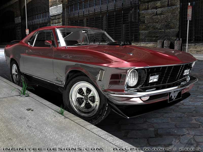 1970 Ford Mustang Mach 1 428 S by mach100