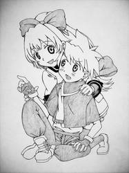 __+Lisa and Yahiko+__ by AnimeSpice