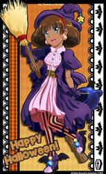 Witch Maple says Happy Halloween!
