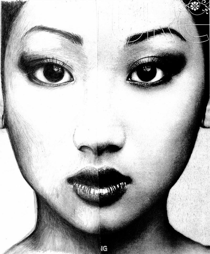 Asian Face Drawing Www Imgkid Com The Image Kid Has It