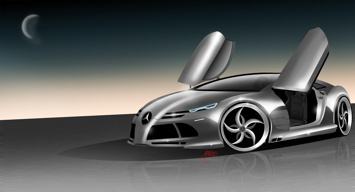 The new mercedes benz mclaren by ashury on deviantart for What is the newest mercedes benz