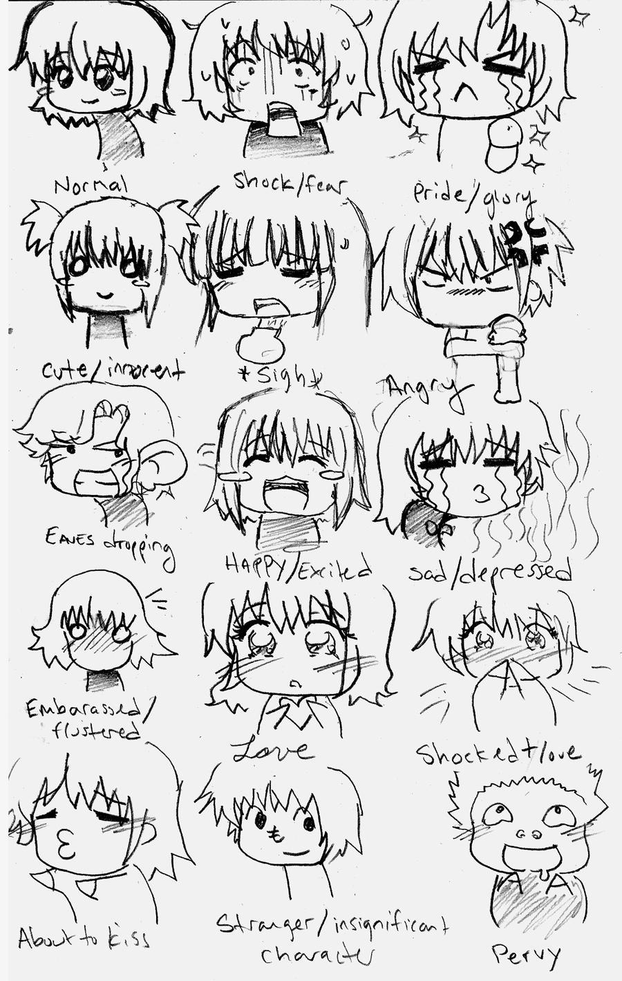 Anime Chibi ExpressionsChibi Expressions