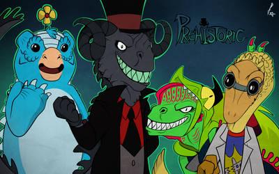 Prehistoric (Cartoony Style Practice) [Villainous]