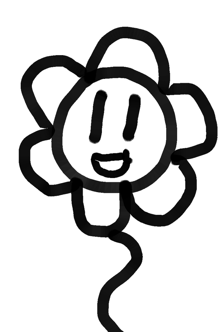 Flowey by SpaceRaccoon2