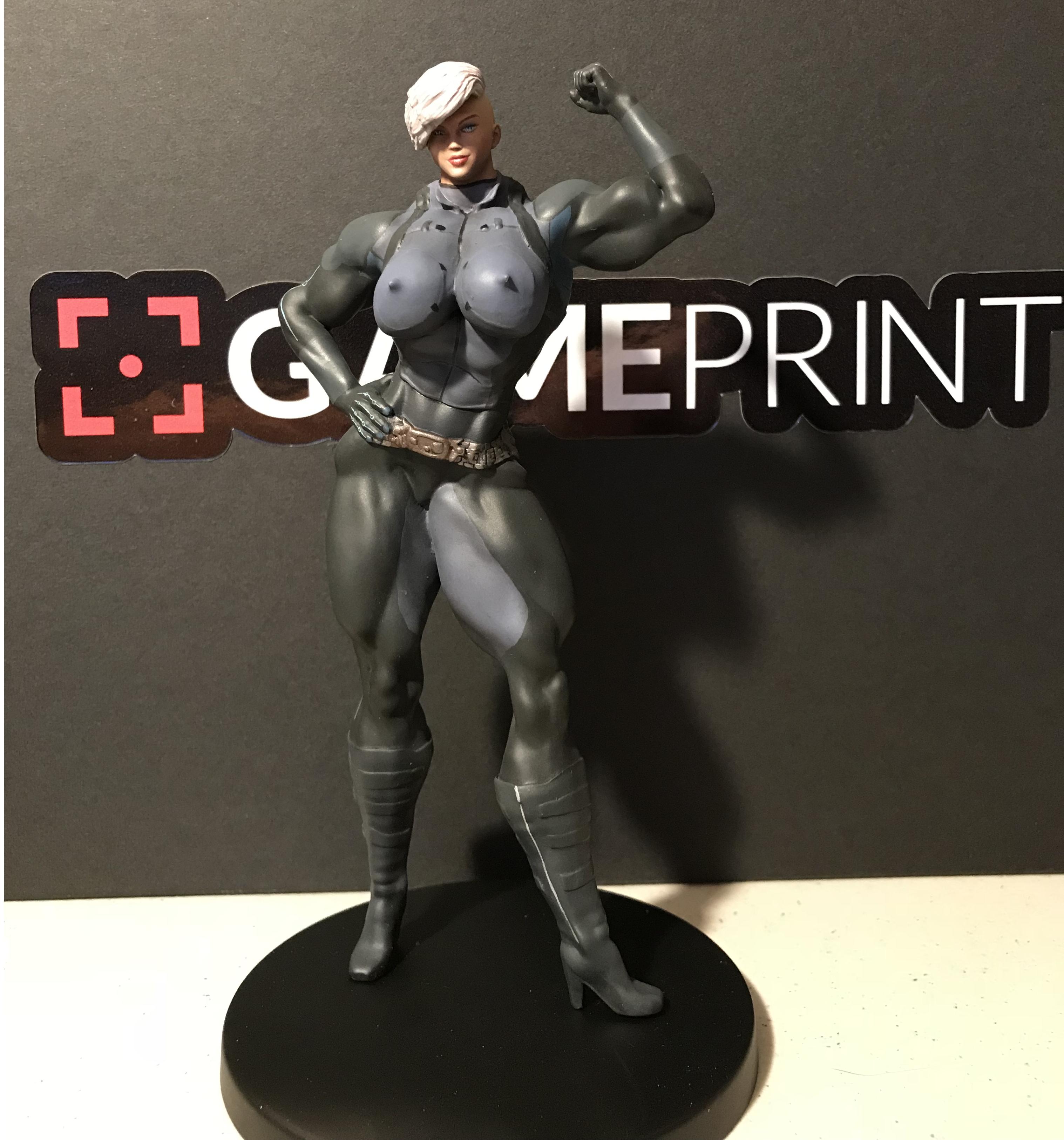 Sonya 7 inch figurine! by ReddofNonnac