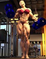 Sonya G8 Gym Workout by ReddofNonnac