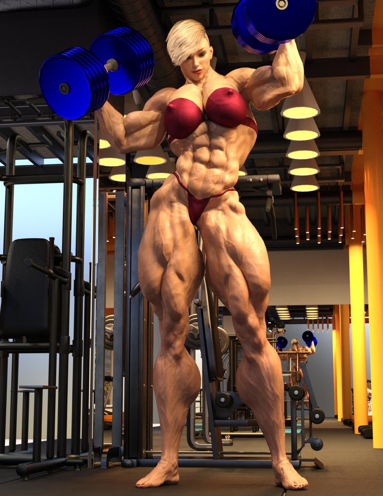 Sonya G8 Gym Workout 2 by ReddofNonnac