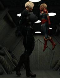 A Hero Sonya could work with by ReddofNonnac