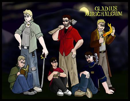 Commish: Gladius Aurichalcum