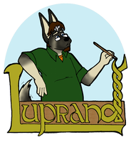 Calligrabadge by Luprand