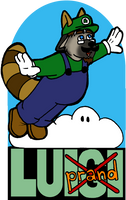 BLFC 2014 Badge: Luigiprand by Luprand