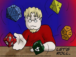 Roll Play Wallpaper by Luprand