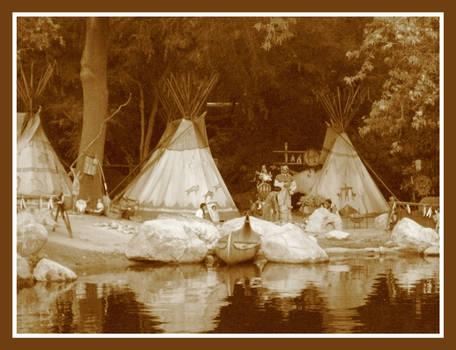 Plains Indian Village
