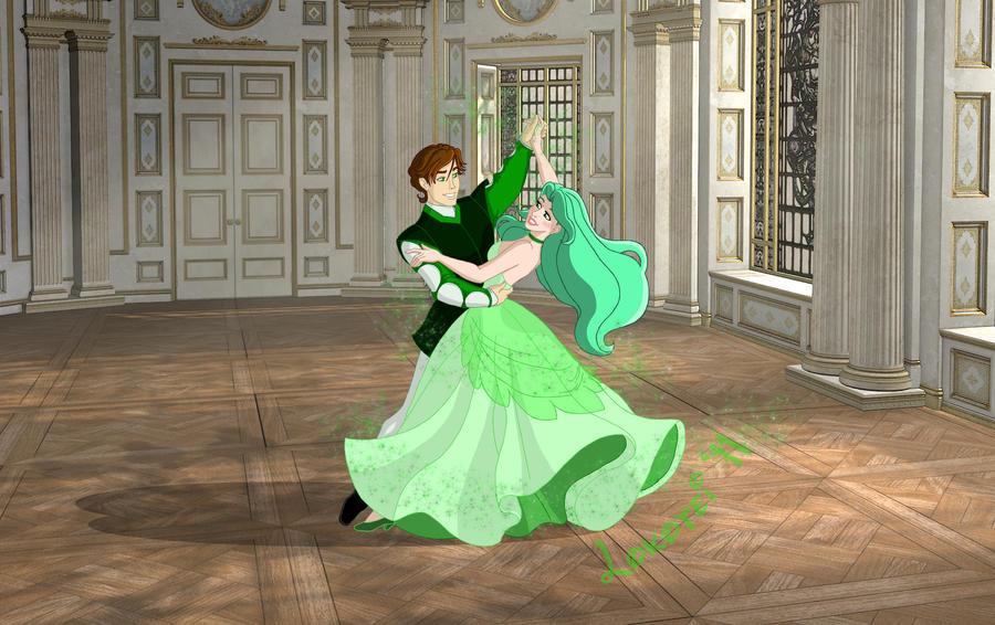 Disney Couple Jade and Charlie by Lokotei