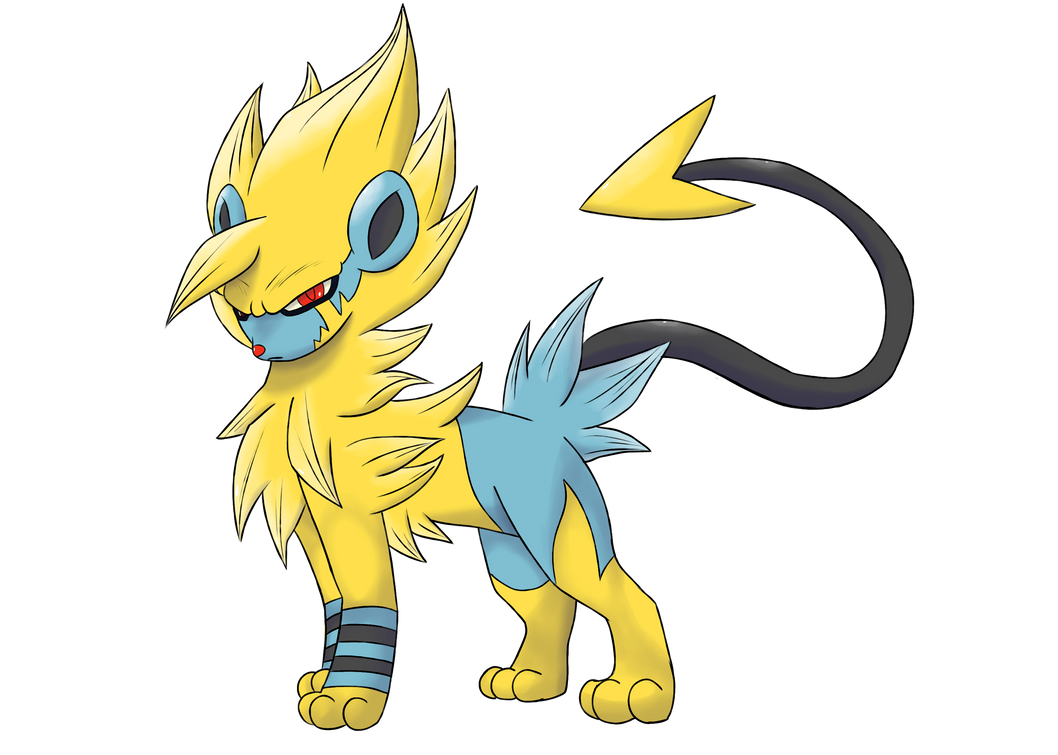 Luxray Mega Evolution by Braivety on DeviantArt