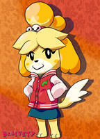 Letterman's Isabelle by Braivety