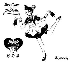 Inktober Day 16: Mr. Game  Watch by Braivety
