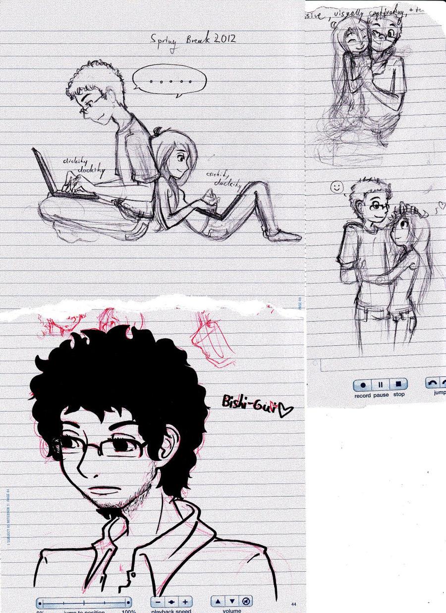 I stopped taking notes... by KaidaFaye