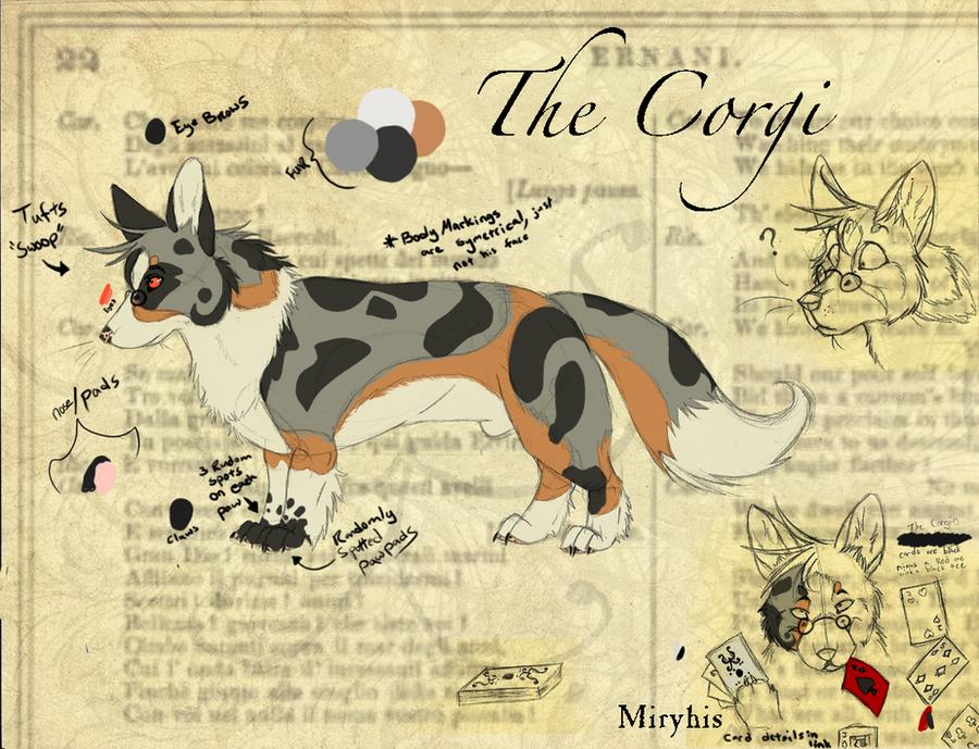 The Corgi Ref by miryhis